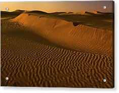 Skn 1127 The Golden Dunes Acrylic Print
