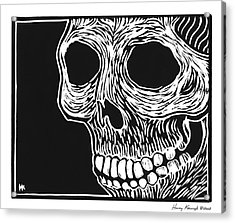 Skull Aware Acrylic Print