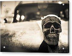 Skull Car Acrylic Print