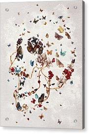 Skull Garden Acrylic Print