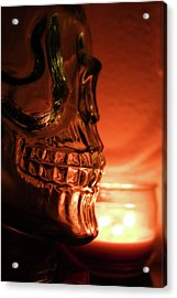 Acrylic Print featuring the photograph Skull by Lora Lee Chapman