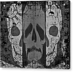 Skull Acrylic Print by Marianna Mills