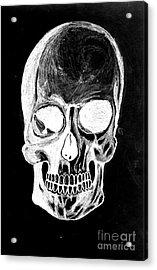 Skull Study 3 Acrylic Print