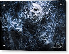 Skulls Tangled In Fear Acrylic Print