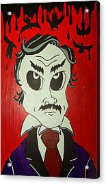 Skully Poe Acrylic Print by Chris  Fifty-one