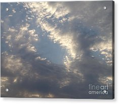 Acrylic Print featuring the photograph Sky 2 by Rod Ismay