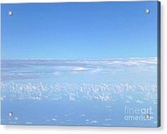 Acrylic Print featuring the photograph sky and clouds M1 by Francesca Mackenney