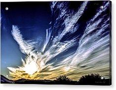 Sky Artistry Over Chandler Arizona Acrylic Print