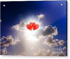 Sky Bound Romance Acrylic Print