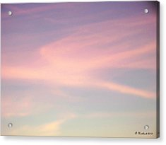 Acrylic Print featuring the photograph Sky Dancer by Betty Northcutt