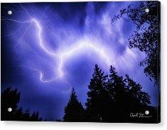 Sky Lightning Acrylic Print