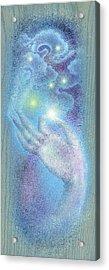 Sky Mudra Acrylic Print