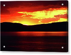 Sky Of Fire Acrylic Print
