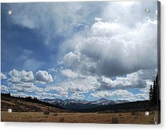 Acrylic Print featuring the photograph Sky Of Shrine Ridge Trail by Amee Cave