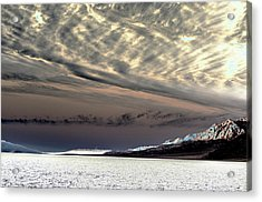 Sky Over Badwater Acrylic Print