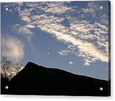 Sky Over Ft. Negley Acrylic Print by Randy Muir