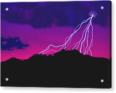 Sky Power Acrylic Print