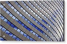 Sky Reflections Acrylic Print by Mike Reid