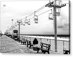 Sky Ride At Seaside Heights Acrylic Print