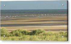 Sky, Sea, Sand, Sod... Acrylic Print