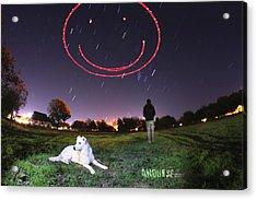 Sky Smile Acrylic Print