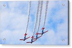 Sky Squadron Acrylic Print