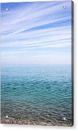 Sky To Shore Acrylic Print