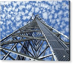Sky Tower Acrylic Print by Robert Geary