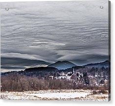 Sky Waves Acrylic Print