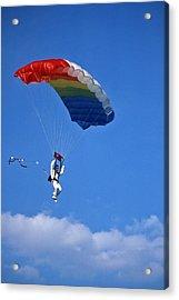 Skydiving - 1 Acrylic Print