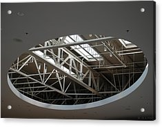 Acrylic Print featuring the photograph Skylight Gurders by Rob Hans