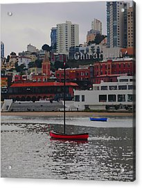 Skyline At The Bay Acrylic Print