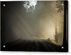Acrylic Print featuring the photograph Skyline Drive One by Kevin Blackburn