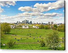 Skyline From Greenwich Acrylic Print