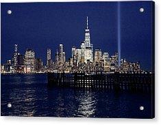 Skyline Lights Acrylic Print