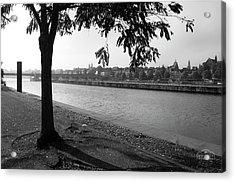 Skyline Maastricht Acrylic Print by Nop Briex