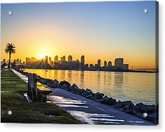 Divine Skyline Sunrise Acrylic Print