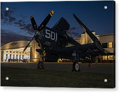 Skyraider Night Acrylic Print