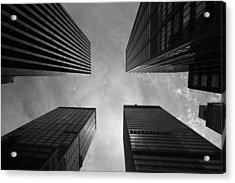 Skyscraper Intersection Acrylic Print