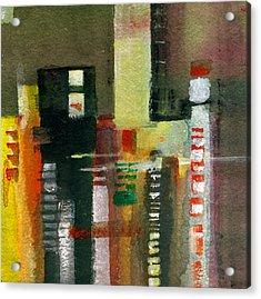 Skyscrapers Acrylic Print by Anil Nene