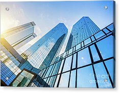 Skyscrapers Acrylic Print by JR Photography