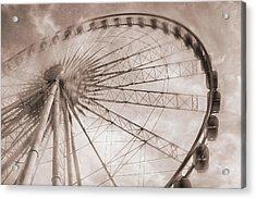 Skywheel In Niagara Falls Acrylic Print