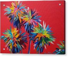 Sl Palms Acrylic Print