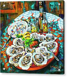 Slap Dem Oysters  Acrylic Print
