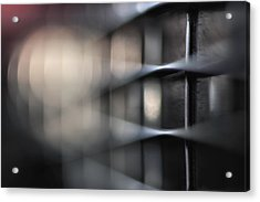 Slapping The Bass Acrylic Print by Bob Daalder