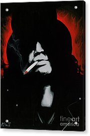 Slash Acrylic Print by Ashley Price