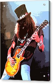 Slash Acrylic Print by Dandy Peacewell