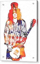 Slash Graphic Acrylic Print
