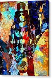 Slash Grunge Acrylic Print by Daniel Janda