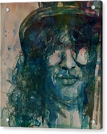 Slash  Acrylic Print by Paul Lovering